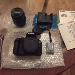 一眼レフカメラ Canon 4000D(欧州限定機種)を買った話〜購入編〜