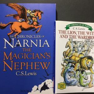 ナルニア国物語の『THE LION, THE WITCH AND THE WARDROBE』
