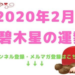 【三碧木星】2020年2月の運勢