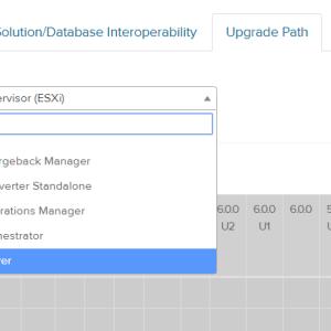 vSphere 7.0 へのバージョンアップ互換性確認方法(VMware ESXi7とvCenter7へのバージョンアップ)