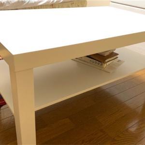 IKEAで買ったコーヒーテーブルとは?家具を買う時のニトリとの使い分け