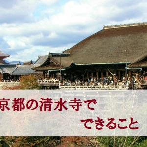 京都一の観光スポット【清水寺】でできること!見どころや御朱印は?
