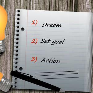 ●「いつか○○したい」というのは夢、「■■年に○○する」というのは目標