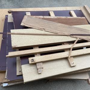 ●家具解体 おけいどん式節約術、モノ減らしはゴールベースで動く一環