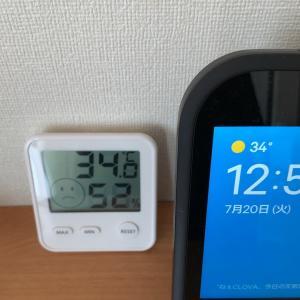 エアコン設定温度