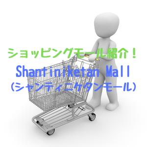 ショッピングモール紹介!Shantiniketan Mall(シャンティニケタンモール)