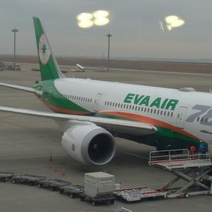 エバー航空(EVA AIR・長榮航空)でセントレアから台湾台北に旅しよう