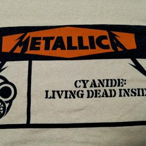 [IMPORT]METALLICA Cyanide Warning T-shirt