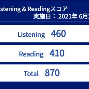 【レベルA返り咲き!】TOEIC 第270回 結果速報(2021年06月20日午前)