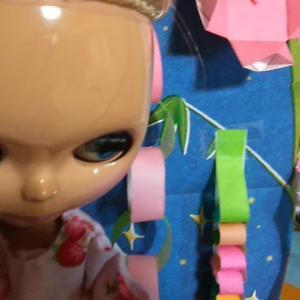 ホワイト系ヘアのブライス人形が可愛い!!