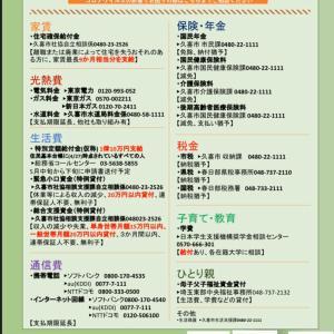 4/26更新 久喜市コロナウイルス支援策まとめ