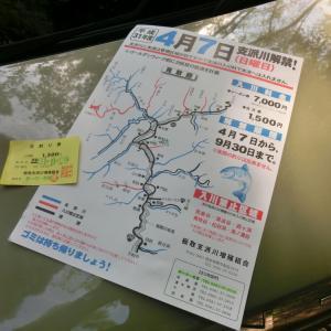 板取川支派川で釣修め2019年9月29日