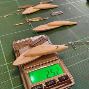 ハンドメイド渓流用バルサミノー50mm,4.0g製作日記「第8話」