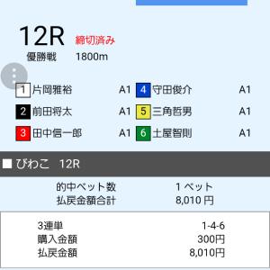 7月30日 G1 琵琶湖競艇優勝戦 的中