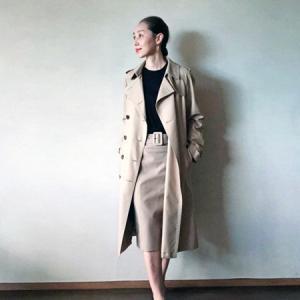 madamaH CLOSET「レザースカート2009(ベージュ)」どう着る?②