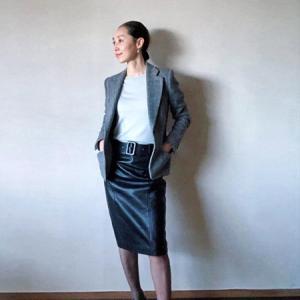 madameH CLOSET「レザースカート2009(ブラック)」どう着る?②