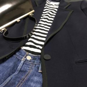madameH CLOSET「ウールジャージジャケット2010」どう着る?③