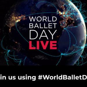WORLD BALLET DAY ほか 今週のいろいろ (5w2020)