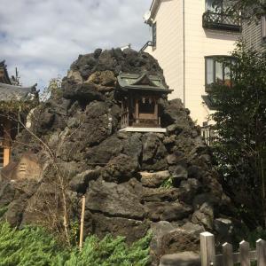 「松原のお富士さん」に登ってきました。(その3)松原富士、登頂。