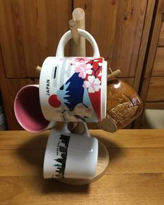珈琲と、私。(その16)「富士山マグカップ」と「マグツリー」届きました~