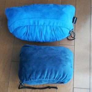 買い直した携帯枕 デカくて重過ぎ !また、買い直した。