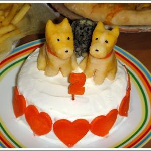 お祝い用ケーキが凄い!