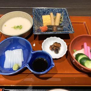温泉旅館の朝食