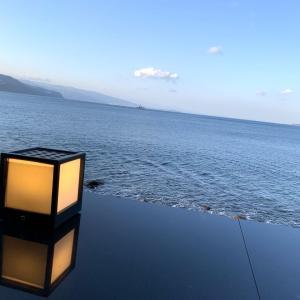 日本一海に近い足湯バー&浴衣着たよ