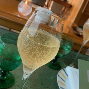 ル・ジャルダンで乾杯