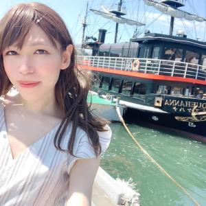 黒船と下田バーガー
