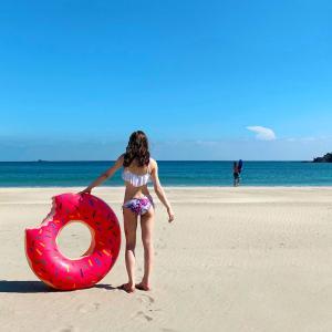 弓ヶ浜ビーチでまったりな午後