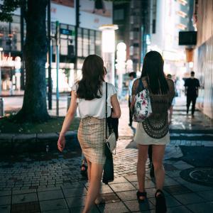 銀座の夜、渋谷の夜