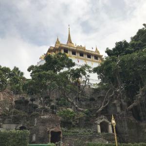 バンコクを一望できる展望系寺院 ワット・スラケート