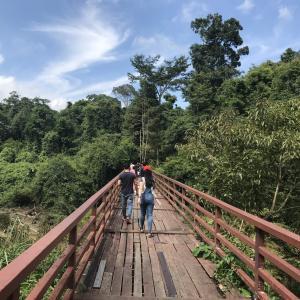 カオヤイ国立公園の滝(Pha Kluaimai,Haew Susat,Haew Narok)