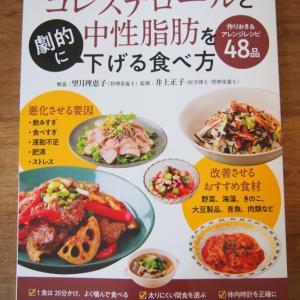 『コレステロールと中性脂肪を劇的に下げる食べ方』出版のお知らせ