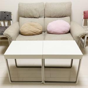 2セット買ったIKEAのテーブル【IKEA】