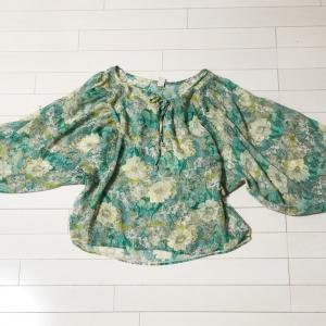 ブラウスをスカートに⁉️*洋服の大胆リメイク