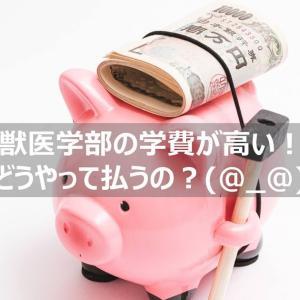 獣医学部の学費が高い・払えない!6年間で○○万円:どうやって払う?