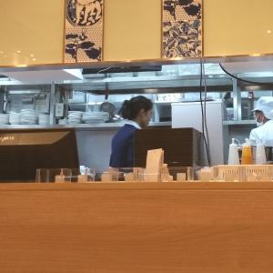 バンコクの空港で日本食レストラン「フジレストラン」へ