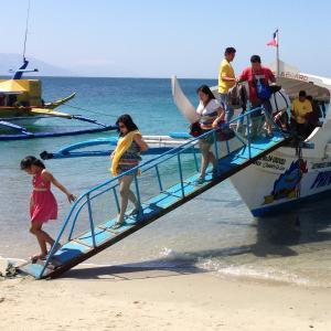 ビーチリゾート「プエルトガレラ」への行き方。バンカーボートは廃止になったので注意!