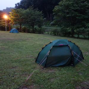 北海道 静内 温泉の森キャンプ場