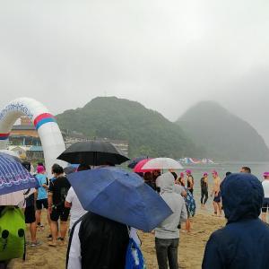 竹野浜オープンウォータースイミング