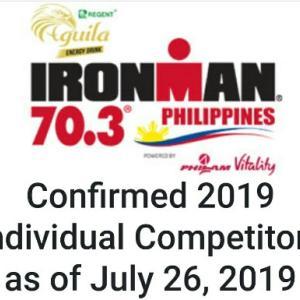 ironman PHILIPPINESスタートリスト