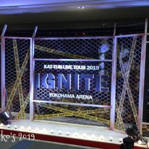 KAT-TUN LIVE TOUR 2019 IGNITE 8/9初日のセトリと感想
