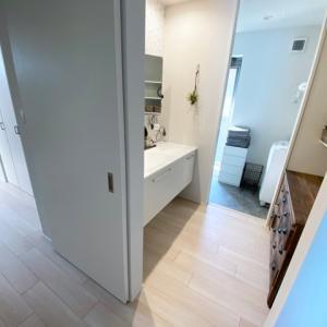 【動線】ランドリールームも家事室も無し!でも、超快適な洗濯動線♪