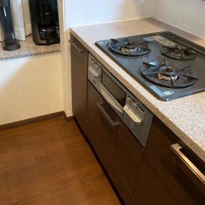 妹宅のキッチン掃除、完了!!