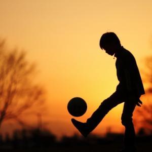 ボールを蹴る前に大切なこと