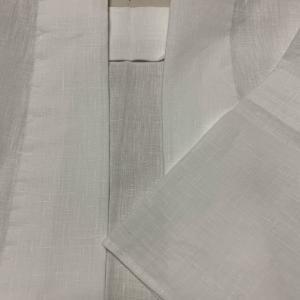 和裁教室 麻半襦袢 と 変え袖