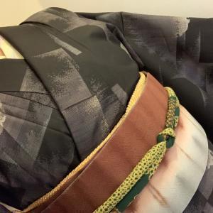 女史会に行く着物