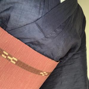 9月2回目の和裁教室に行く着物